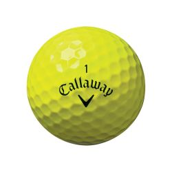 Callaway Supersoft Yellow Ball View