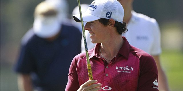 In a Tour Championship press conference, Rory McIlroy laughed at the idea that he intimidates Tiger Woods.