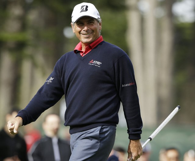 Fred Couples during his win in the 2013 Charles Schwab Cup Championship in San Francisco.