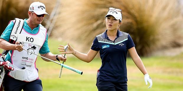 Lydia Ko is enjoying her week at the 2016 New Zealand Women's Open.
