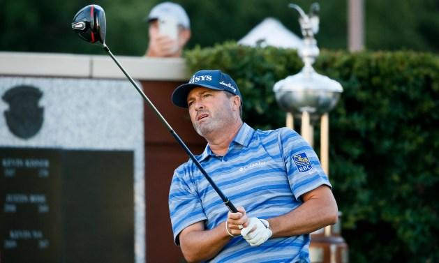 PGA Tour: Ryan Palmer a 'little nervous' hitting golf's first shot back