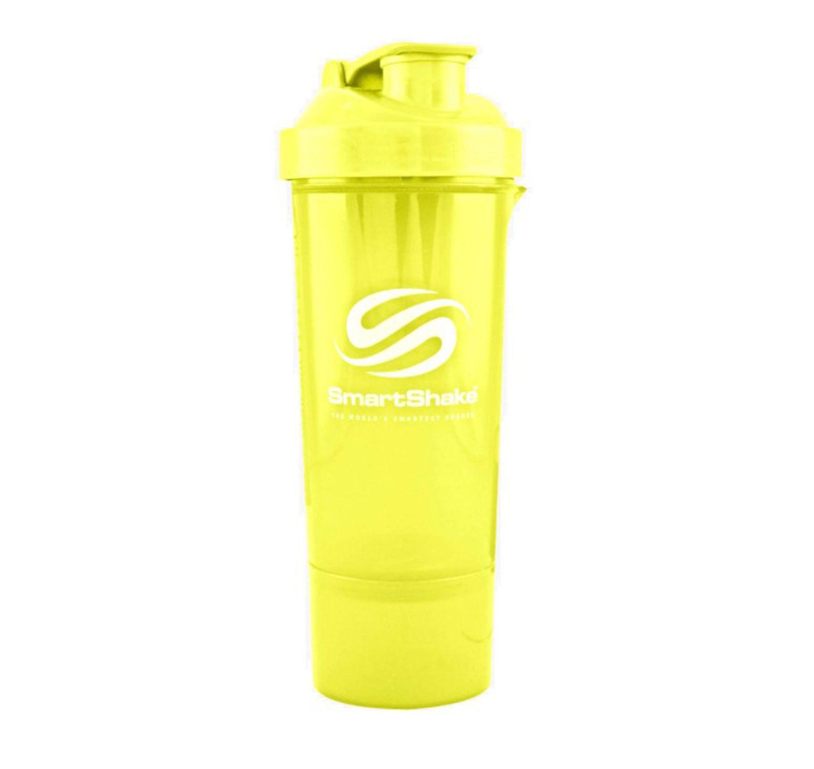 Slim 500ml - Neon Orange, Neon Yellow, 500, Smartshake
