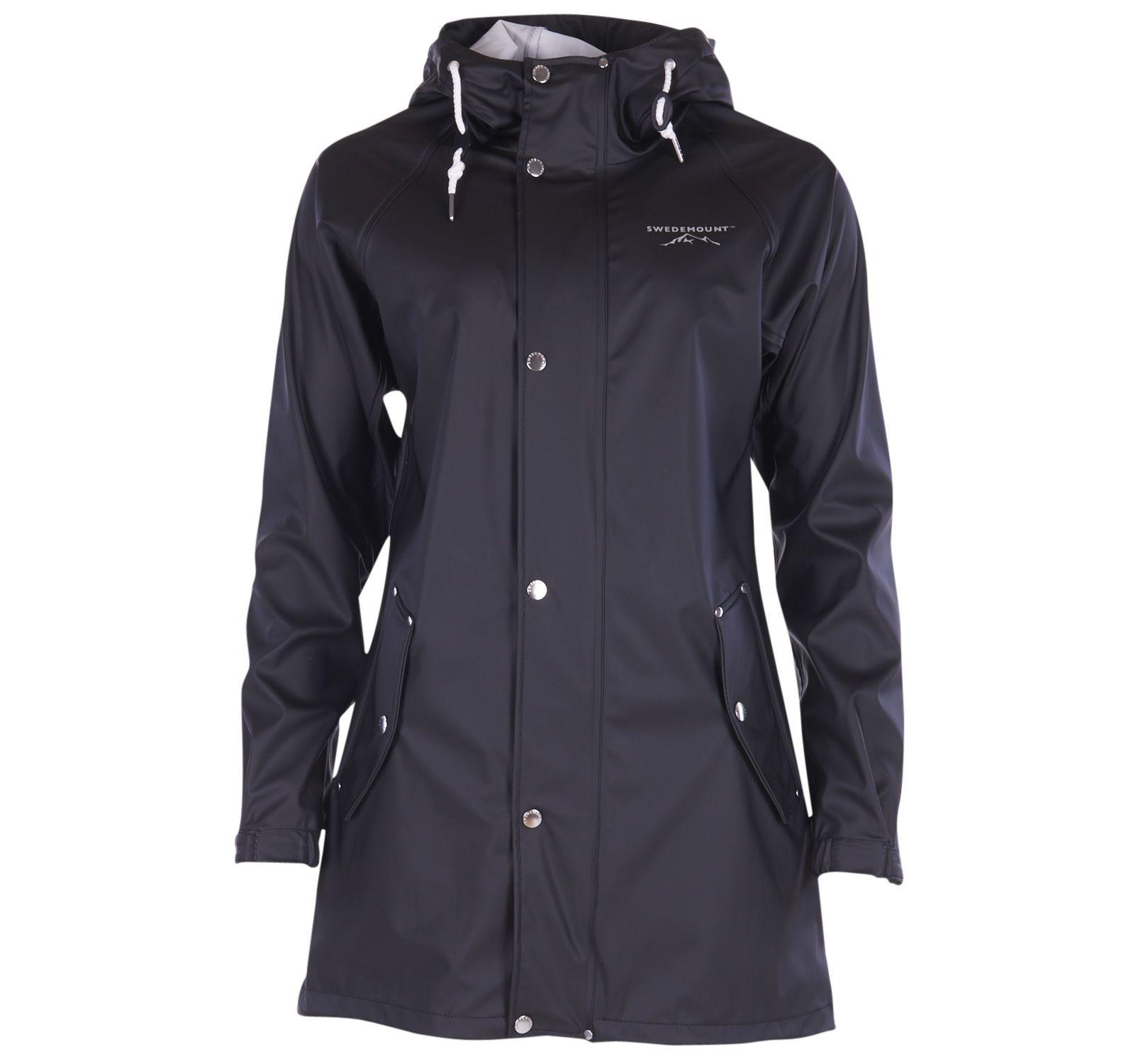 Väderöarna Coat W, Black, 50, Regnkläder