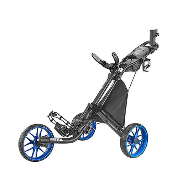 Caddytek EZ TOUR Quickfold Golfvagn med 3 Hjul - Blå