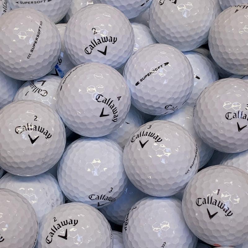 Callaway Supersoft Klass A/B Golfbollar -12 Pack