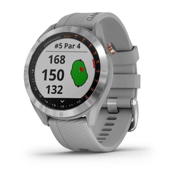 Garmin Approach S40 Golfklocka med GPS - Grå