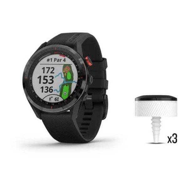 Garmin Approach S62 / CT10 Bundle Golfklocka med GPS Svart
