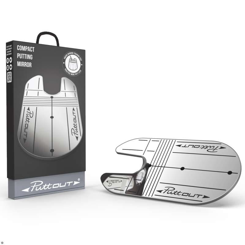 PuttOUT Compact Putting Mirror