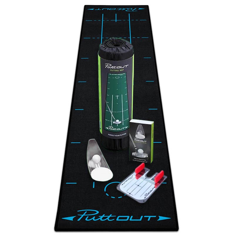 PuttOUT Putting Golf Complete Package - Black