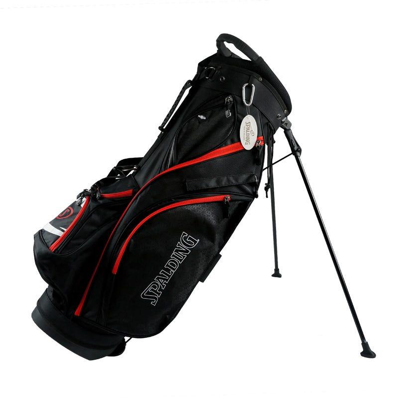 Spalding Golfbagar - Spalding Elite Golf Bärbag-Svart/Röd