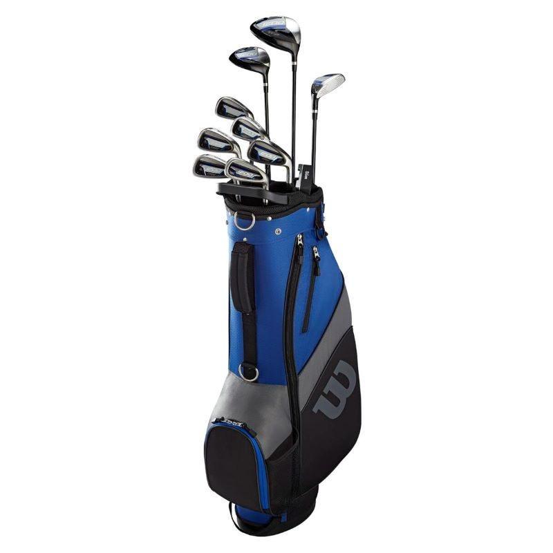 Wilson 1200 TPX Men Full Golf Set Graphite/Steel Extra Long-Right