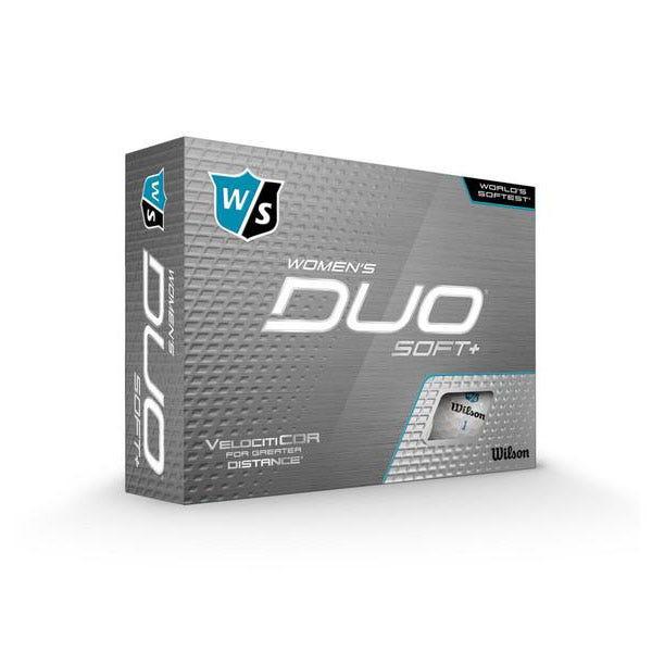 Wilson Staff DUO SOFT+ Woman Golf Balls 12 Pack - White