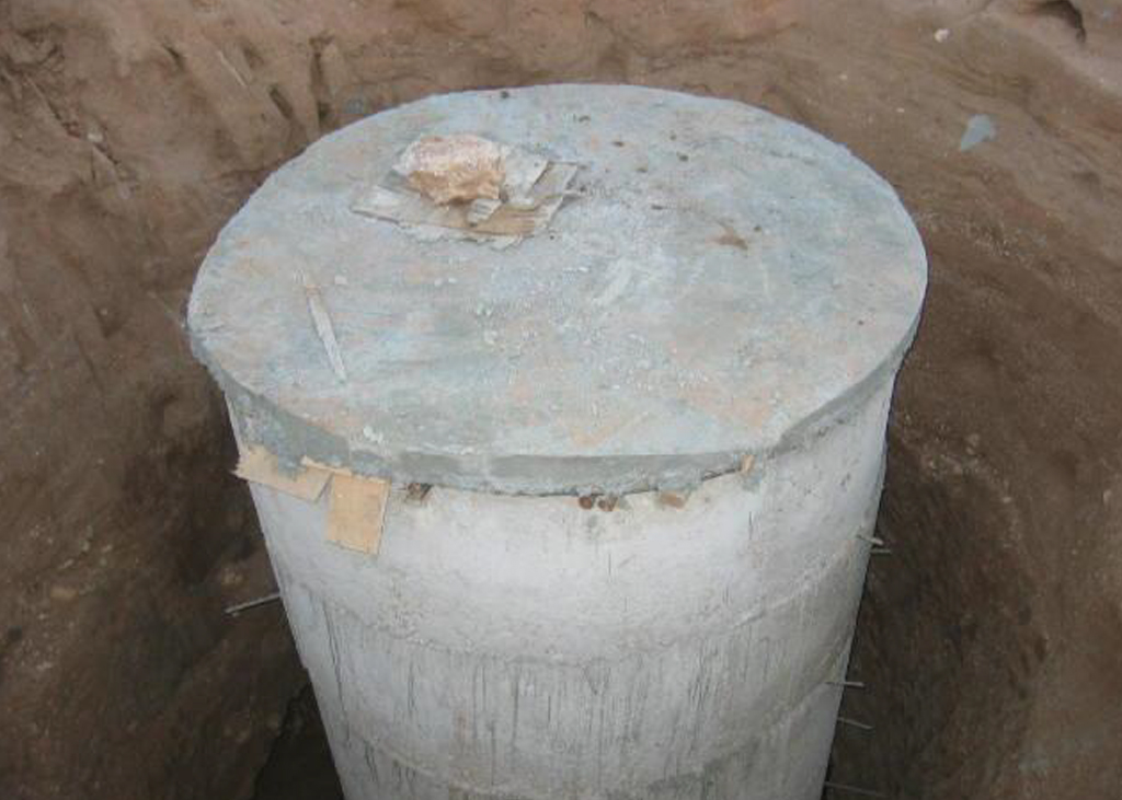 UNICEF Shallow well for Haraf solar water pump