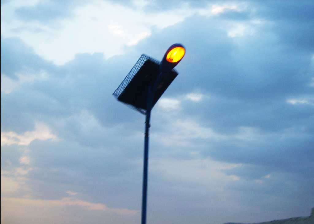 Solar street light standalone unit Hargeisa