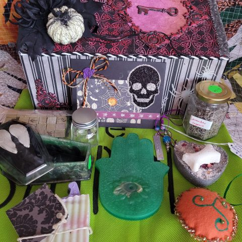 Halloween Upcycled Gift Box