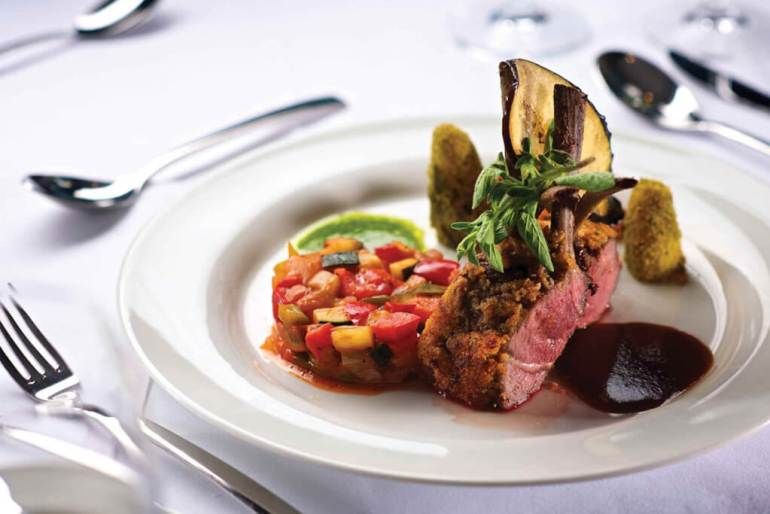 Delicious Food on Cruise