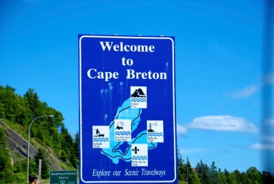 Welcome to Cape Breton, NS