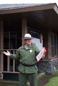 Our National Park Service guide was excellent