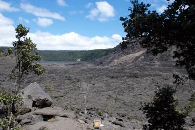 Desolate moonscape across the Kilauea Iki Trail