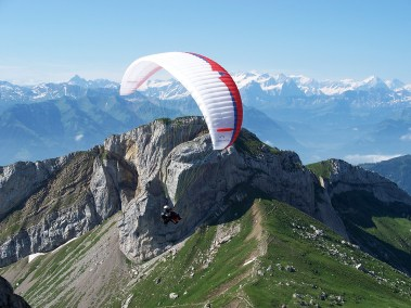 Paragliding at Pilatus-a