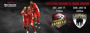 Las Vegas Legends at Ontario Fury