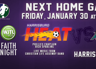 Arena soccer Event: St Louis Ambush at Harrisburg Heat Jan 30th