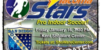 Tacoma Stars host San Diego Sockers Friday at ShoWare in MASL action watchg live video