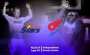 Sunday Soccer: Tacoma Stars at Missouri Comets 5pm CT