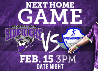 MASL: Brownsville at Dallas Sidekicks 3pm CT