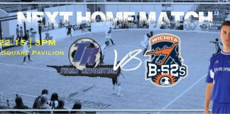 Wichita B52s at Tulsa Revolution Feb 22nd 3pm CT
