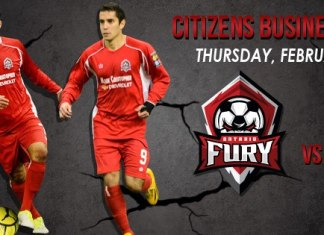 San Diego at Ontario Fury Feb 12th