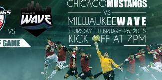 MASL Playoffs begin! Milwaukee Wave at Chicago Mustangs Feb 26th live video webcast