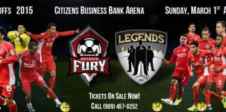 MASL Playoffs 2015: Las Vegas Legends at Ontario Fury March 1st watch live streaming video