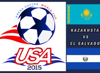 World Cup 2015: Kazakhstan vs El Salvador Mar 25th 6:00pm PT