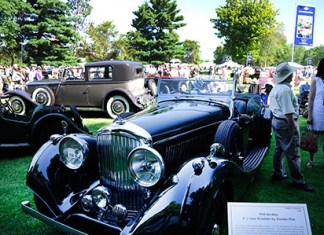 watch live video LIVE VIDEO: 37th Annual Concours d'Elegance of America on July 26th