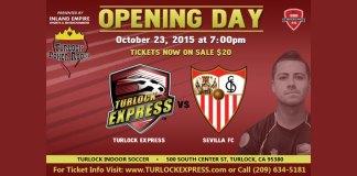 MASL Exhibition Game: Sevilla FC at Turlock Sat, Oct 23rd