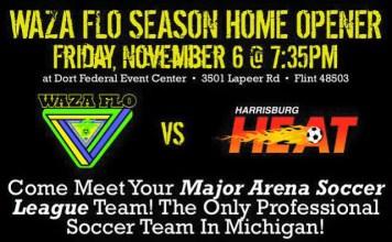watch live video MASL East Div: Harrisburg Heat at Waza Flo Nov 6th, 7:05pm