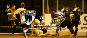 MASL West Div: Turlock at Las Vegas Legends Nov 28th 7:05pm