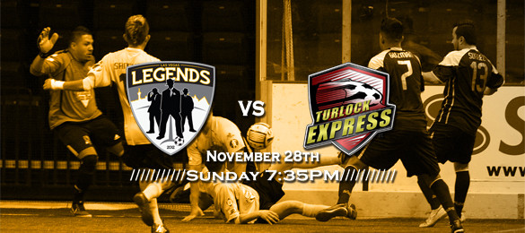 MASL West Div: Turlock at Las Vegas Legends Nov 28th 7:05pm