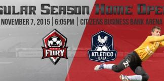 Atletico Baja at Ontario Fury Nov 7th live video streaming
