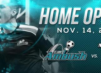 MASL Central: Chicago Mustangs at St Louis Ambush, Sat Nov. 14th live video webcasting