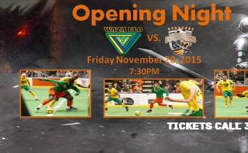 MASL East: Waza Flo at Syracuse Silver Knights Nov 20th, 7:30pm watch live video arena soccer on Go live Sports Cast
