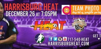 Syracuse Silver Knights at Harrisburg Heat 7:05pm ET Dec 26th