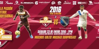 San Diego at Soles de Sonora MASL arena soccer Jan 23rd 7:05pm