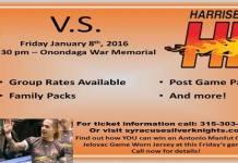 MASL Eastern Div: Harrisburg Heat at Syracuse Silver Knights Jan 8th,2016