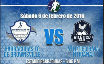 MASL South: Atletico Baja at Brownsville Barracudas Feb 6th, 2016