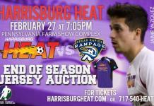 Cedar Rapids at Harrisburg Heat Sat, Feb 27th 7:05 pm