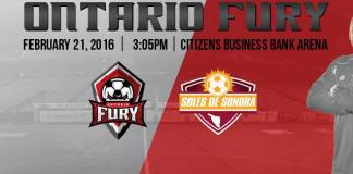 MASL West: Sonora de Soles at Ontario Fury 3:05pm PT Feb 21st