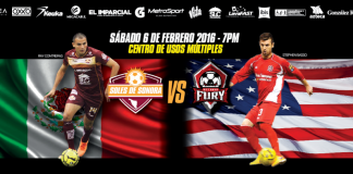 Ontario Fury at Soles de Sonora MASL arena soccer Feb 6th 7:05pm watch live arena soccer online or on Roku