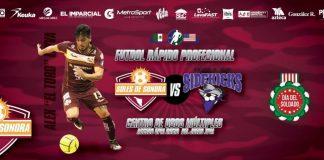 Dallas Sidekicks at Soles de Sonora MASL arena soccer Feb 27th 7:05pm MST